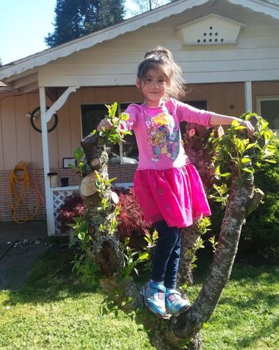 Six-year-old Syra Gonzalez of Drain
