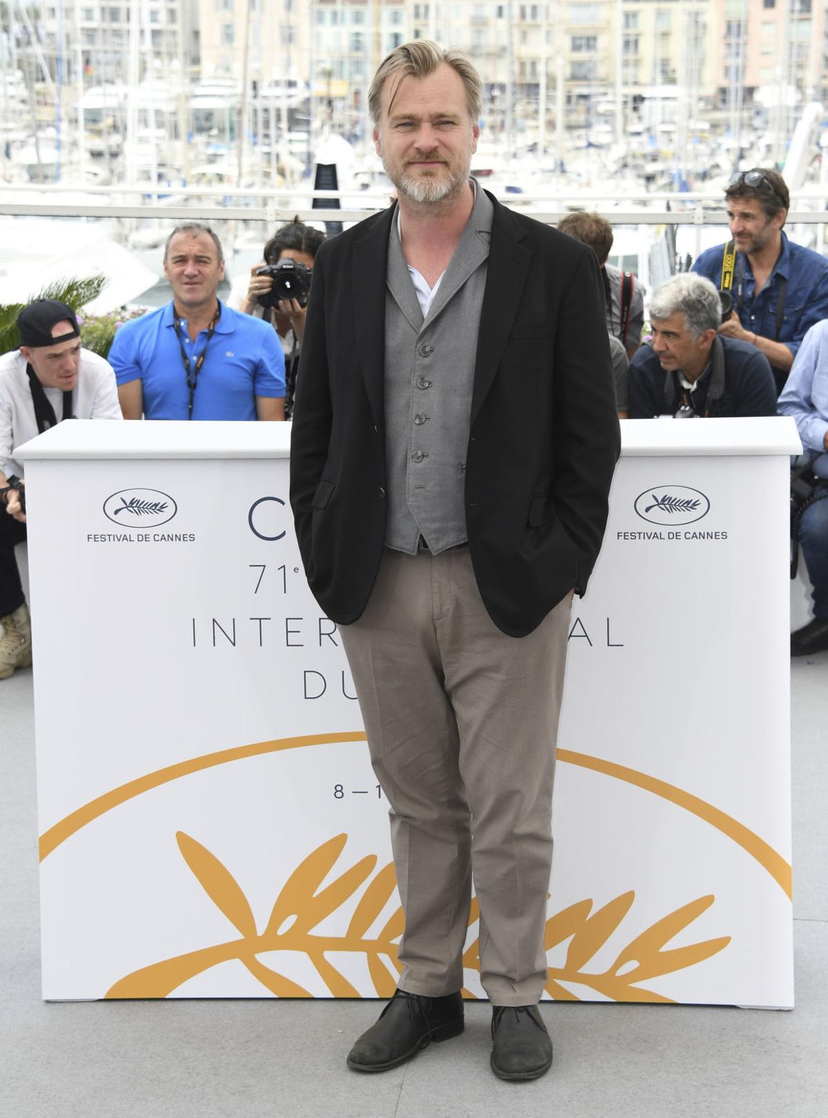 France Cannes 2018 Christopher Nolan Photo Call