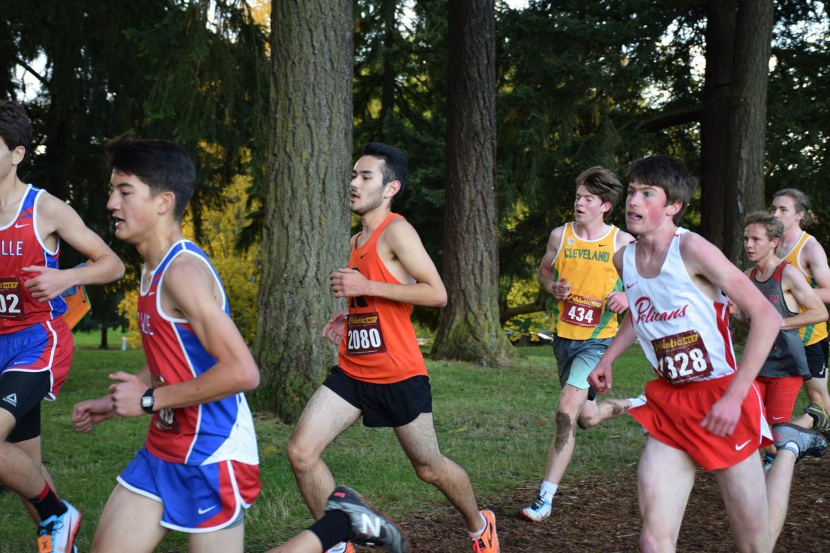 Steen Olson running