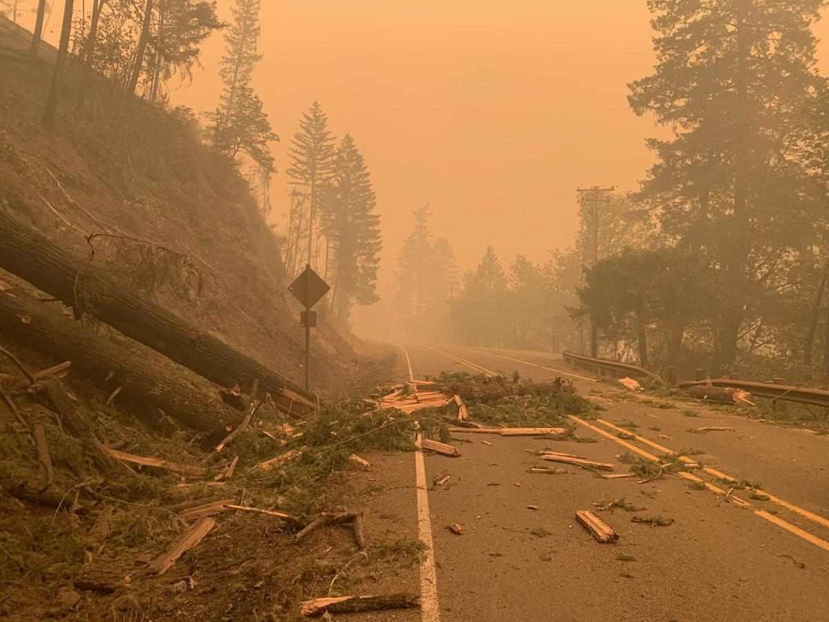 Highway 138 closed due to Archie Creek Fire
