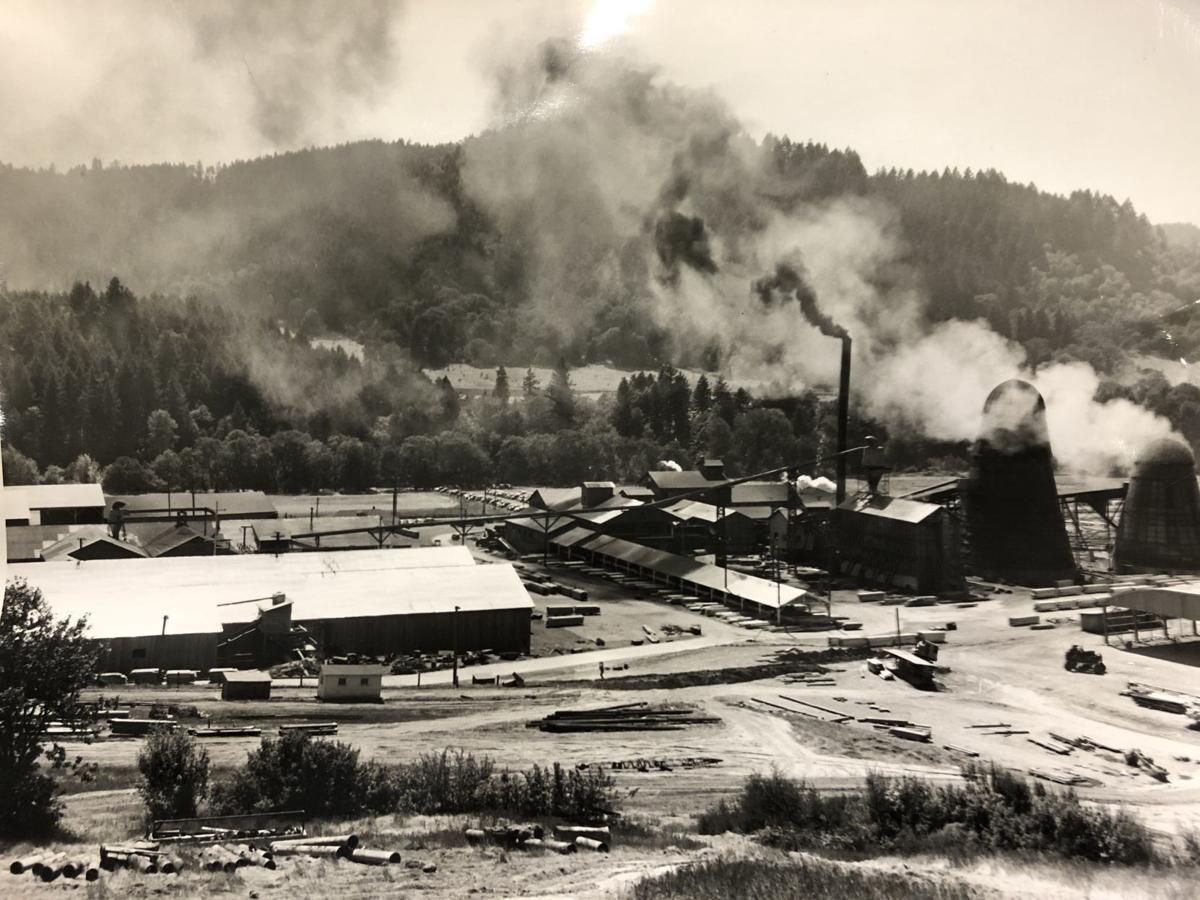 Original Roseburg Lumber Company mill in east Roseburg