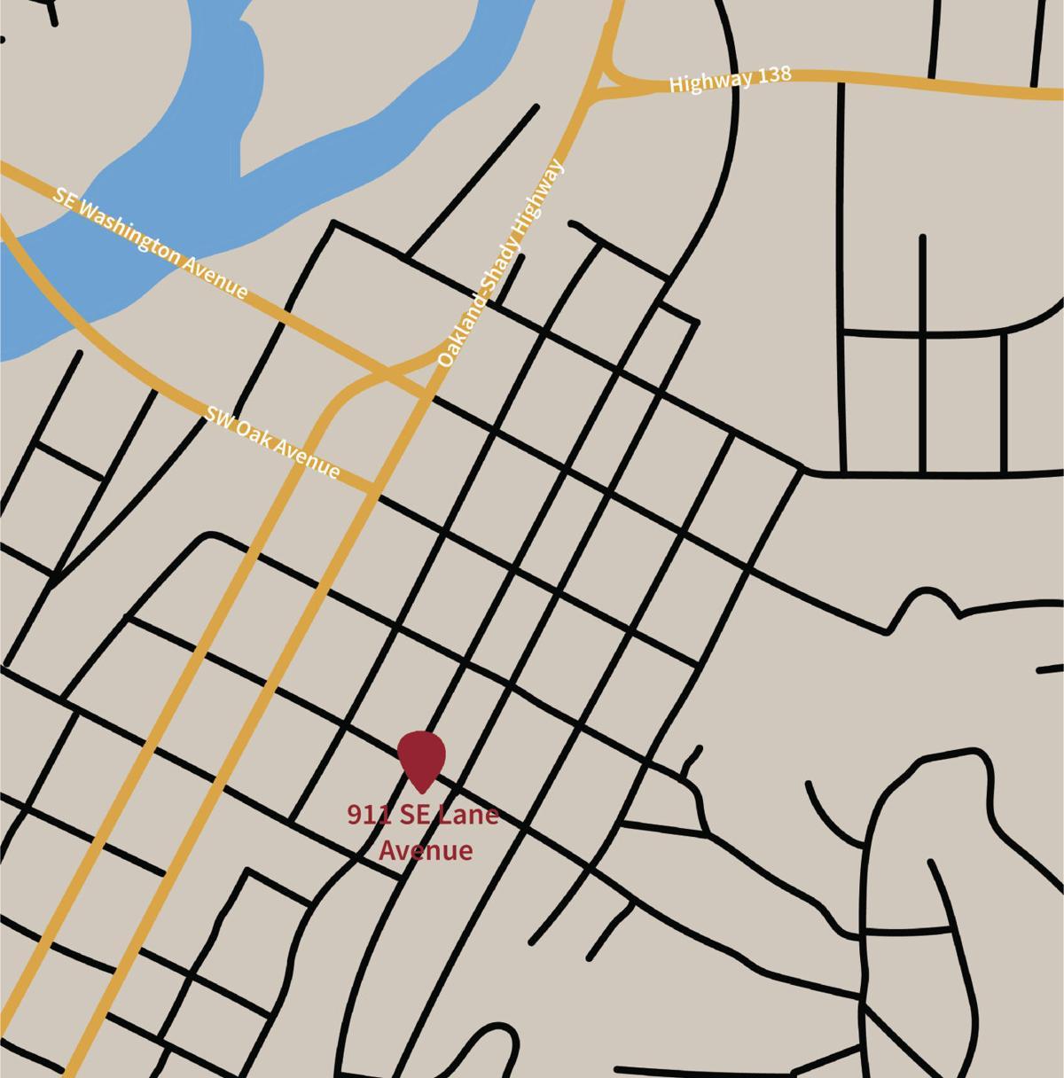 neighborworks umpqua apartment complex location