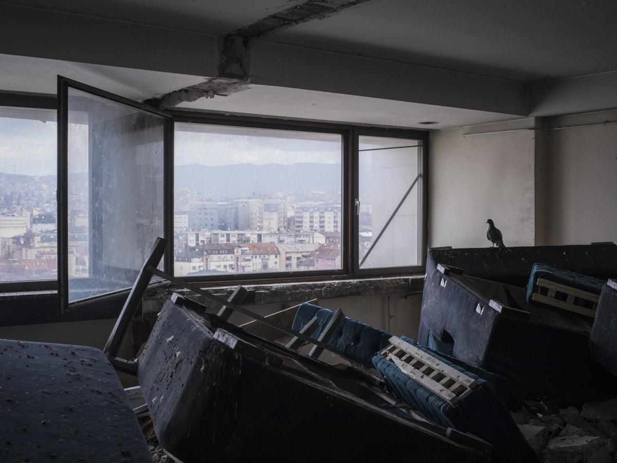 KOSOVO DECREPIT HOTEL 5