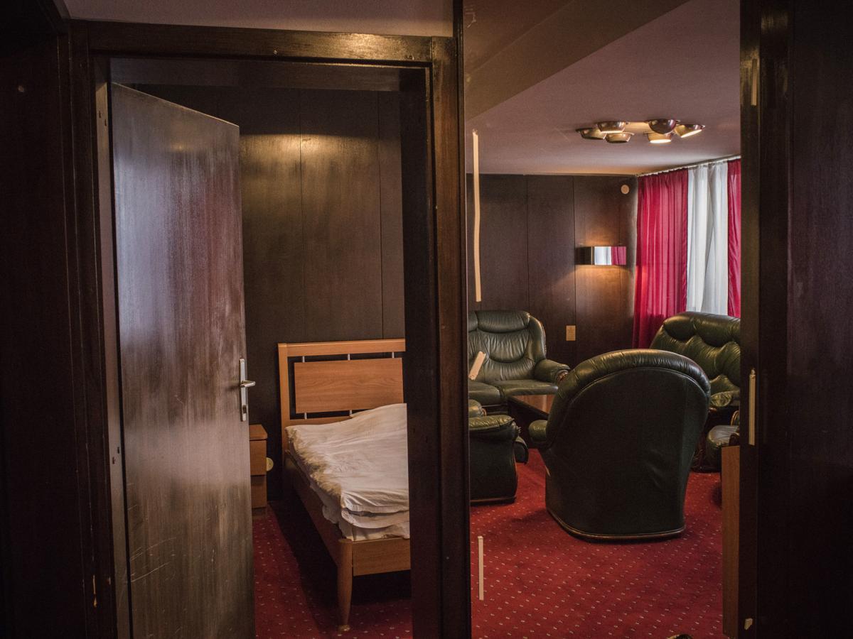 KOSOVO DECREPIT HOTEL 6