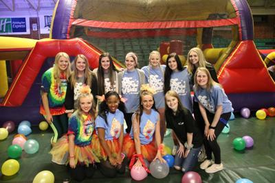 Dance Marathon officers raise funds for the program