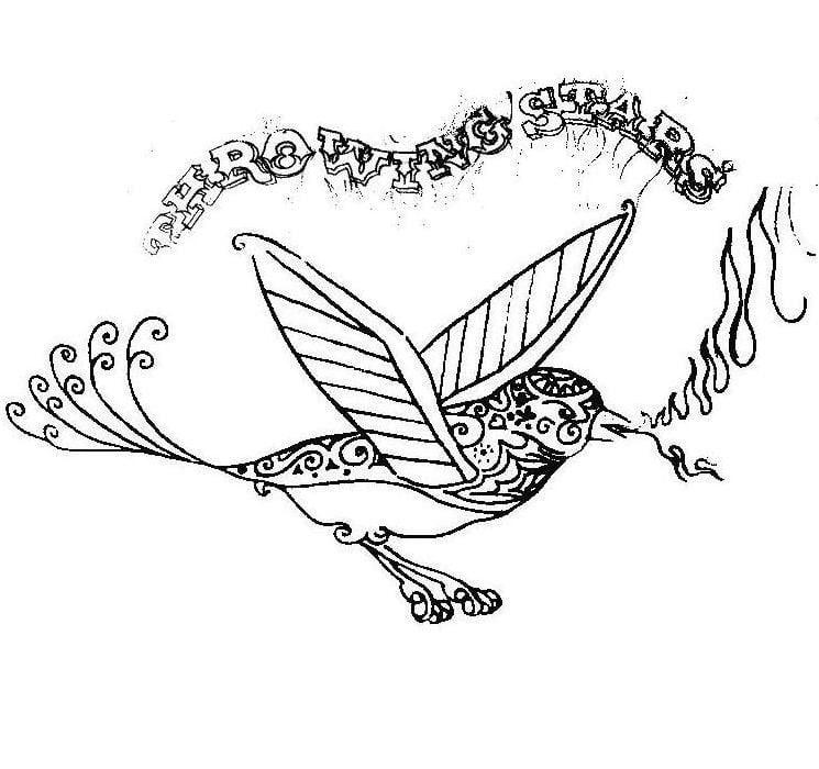 "Throwing Stars: ""Bluebird Full of Fire"""