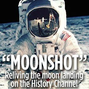 """Moonshot"" relives moon landing"