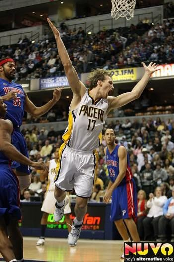 Indiana Pacers vs. Detroit Pistons
