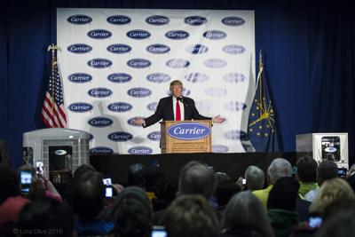 Lukewarm reactions to Trump's Carrier announcement