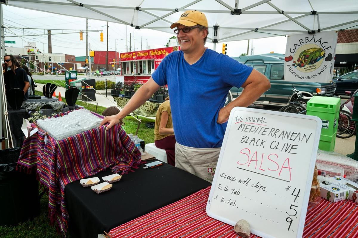 """Wantrepreneur"" Chad Heeter is back in Indiana, selling Garbaage at the farmer's market"