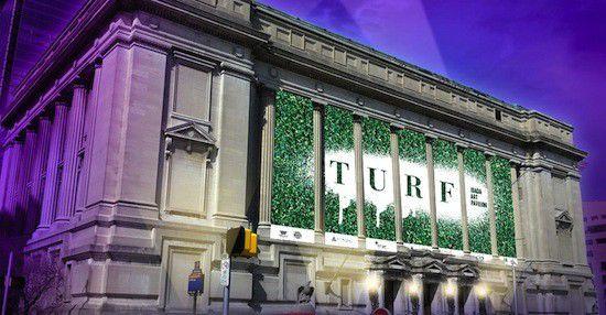TURF: Art pavilion occupies old city hall