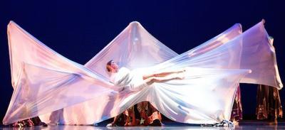 Dance Kaleidoscope's Liberty Harris bows out