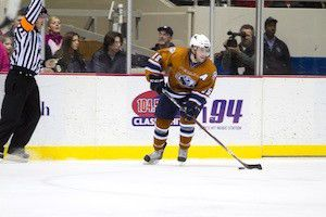 Blake Coleman: Hottest player on Indy Ice
