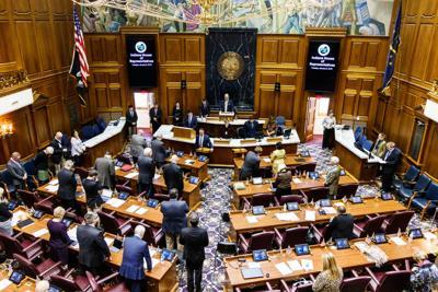 Language to reduce hospital reimbursements cut from bill in Senate