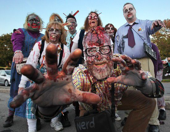 Slideshow: Broad Ripple Zombie Walk