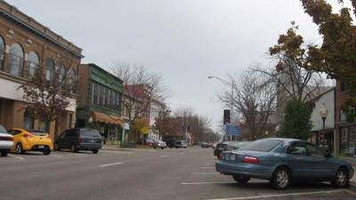 Downtown Michigan City