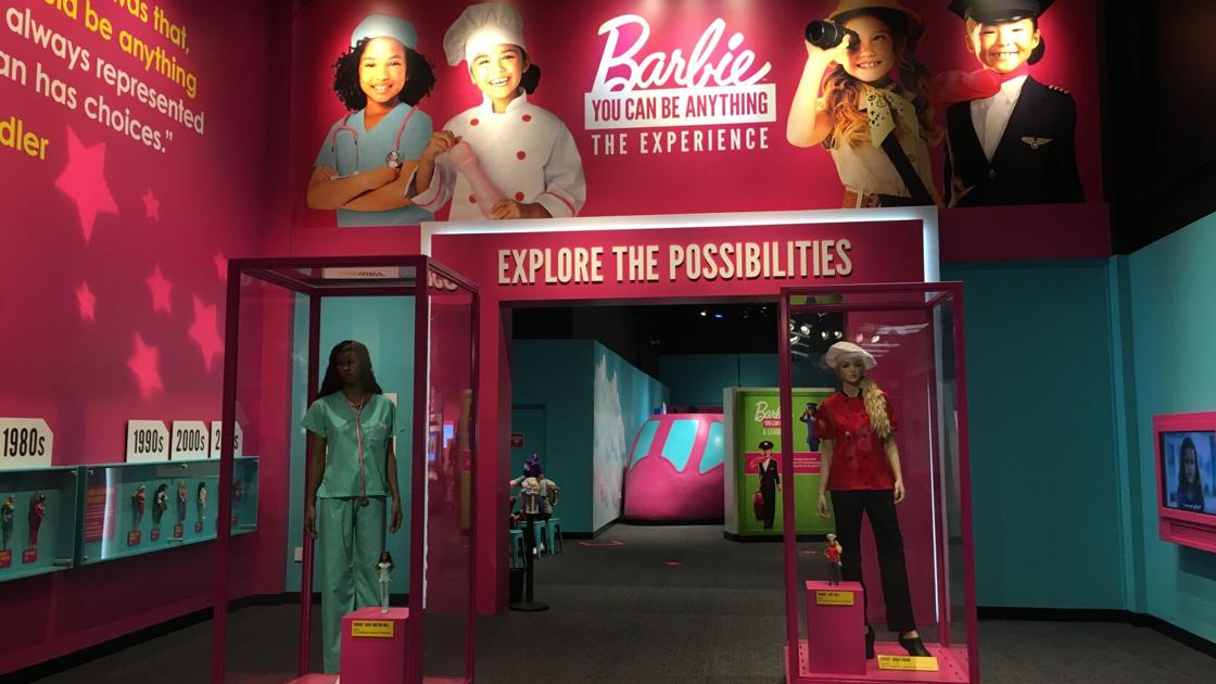 'Barbie You Can Be Anything', now open at The Children's Museum