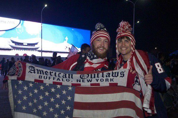 Team USA super-fans at Sochi