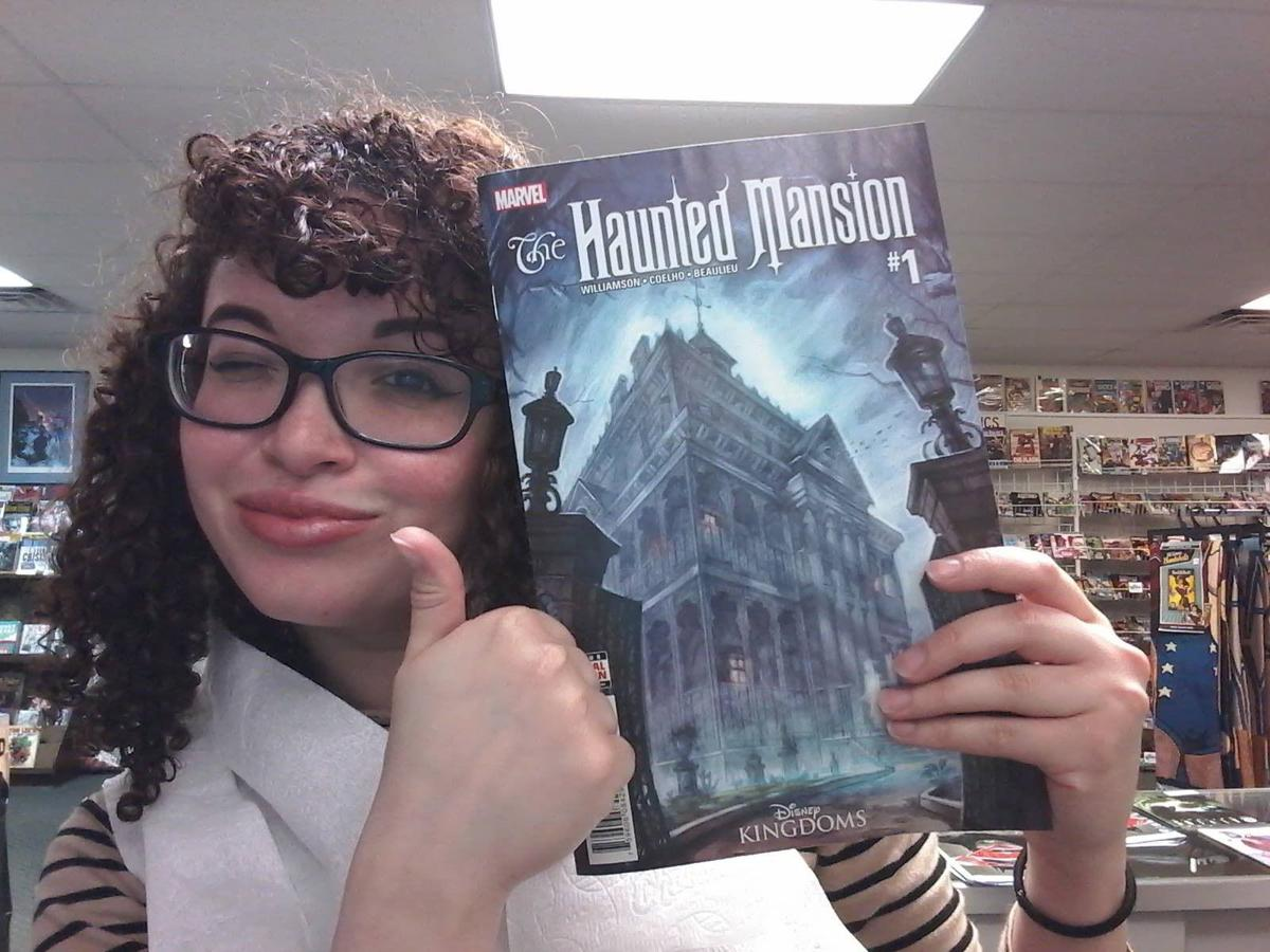#NUVOpop: Haunted Mansion