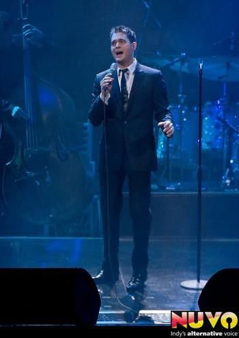 Photo gallery: Michael Buble at Conseco, April 18