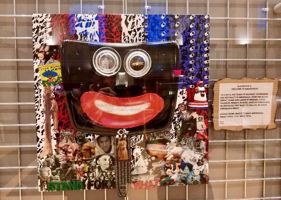"""Blackface II (Welcome to AmeriKKKa)"" by Tony Radford"