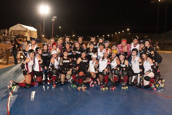 Slideshow: Naptown Roller Girls at the Indiana State Fair