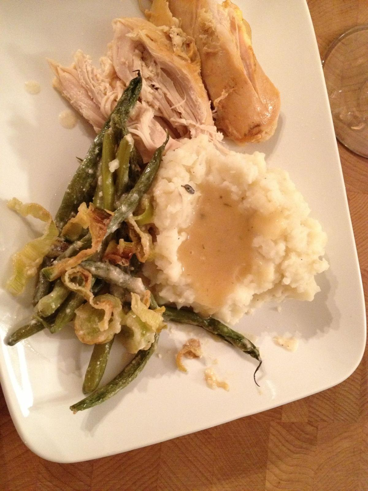 Heather Tallman's slow cooker turkey breast & candied sweet potatoes and apples