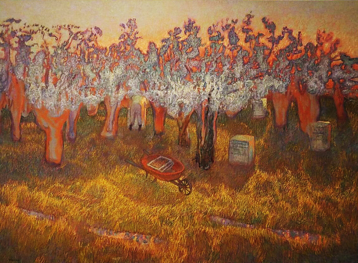 """Orchard Bees"" by Mark Blaney"