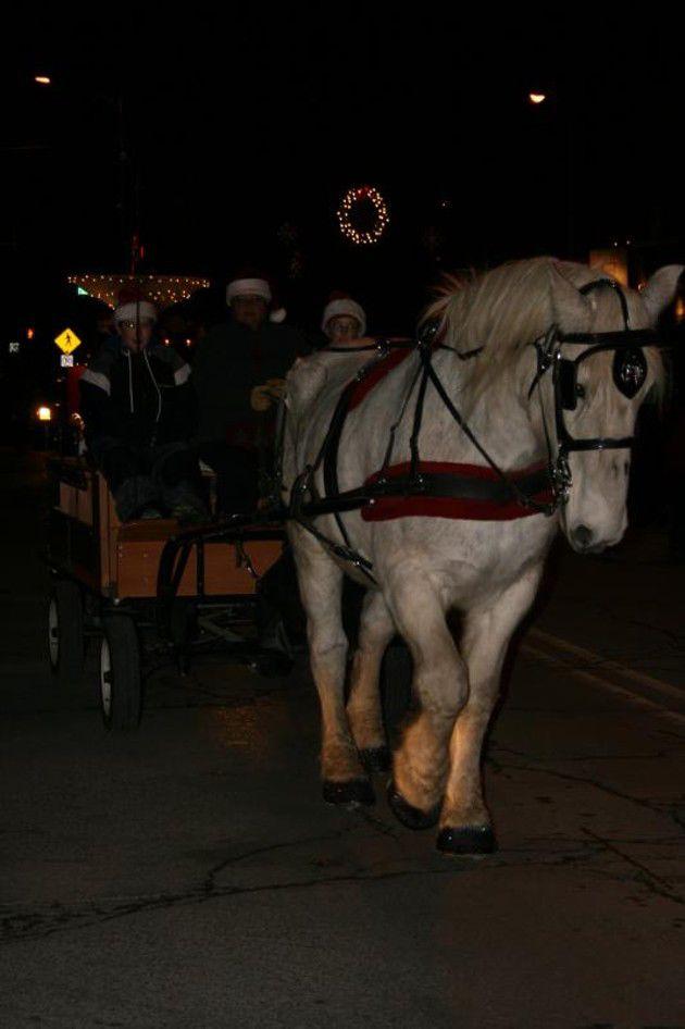 Broad Ripple Lights Up Parade- December 12,2009