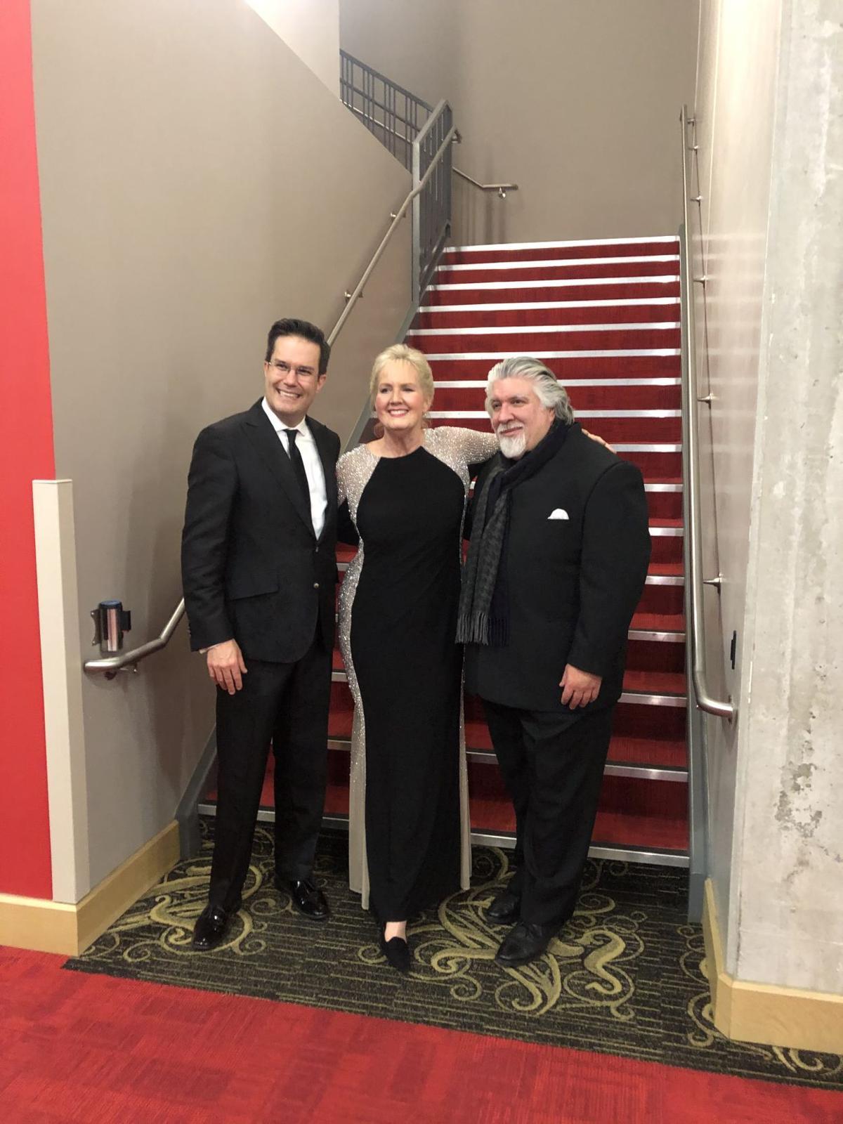 ICO Matthew Kraemer, Marjorie Lange Hanna, Andres Cardenes.