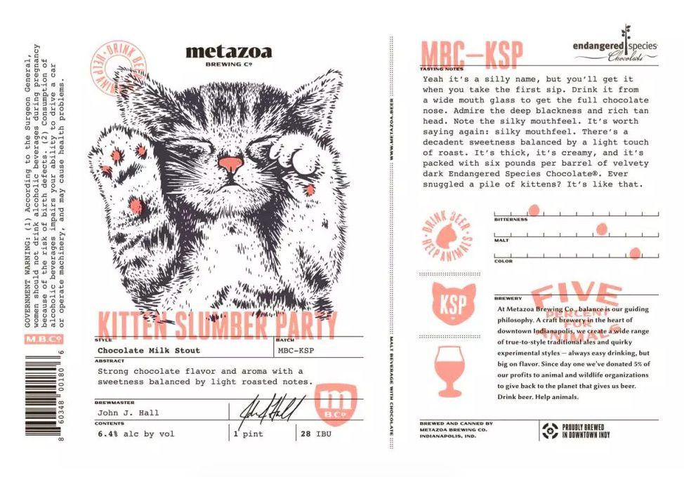 Metazoa Kitten Slumber Party