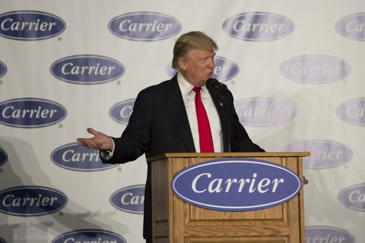 Trump, state incentives part of plan to save Carrier jobs