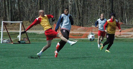 Slideshow: Indy Eleven's pre-Florida practice; plus - game live feed bungled