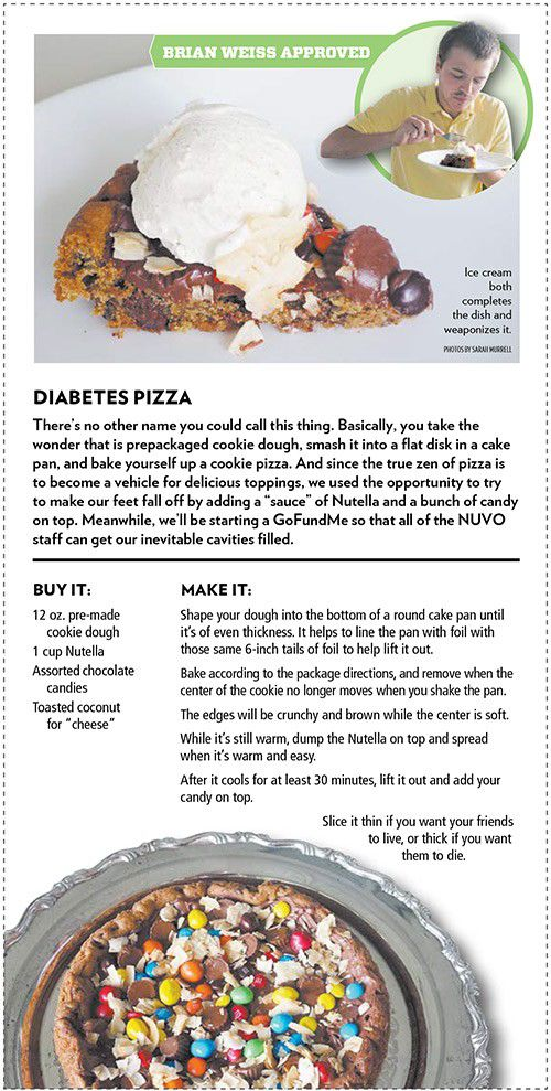 Better as pizza: Instant diabetes edition