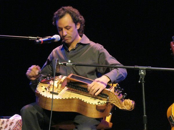 Tomás Lozano masters the esoteric hurdy-gurdy