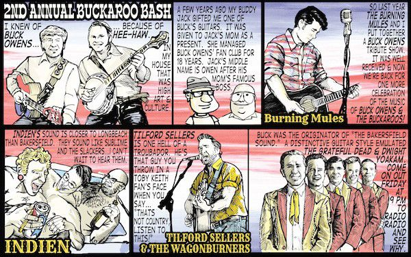 Barfly: Buckaroo Bash this weekend