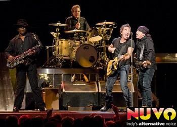 Photo gallery: Bruce Springsteen and The E Street Band at Conseco, March 20