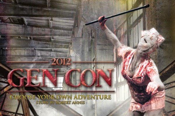 Gen Con 2012: Choose your own adventure