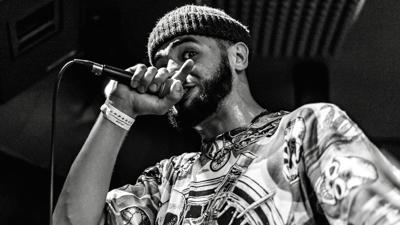 Indy rapper Double A is dropping dimes with his rhymes