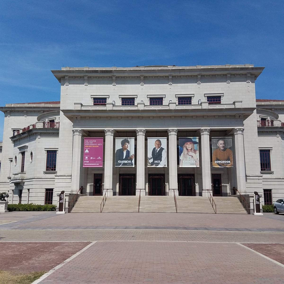 Palladium exterior at the Center for the Performing Arts