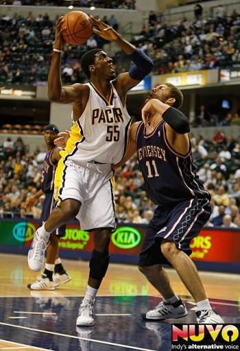 Pacers Beats New Jersey Nets 98-80