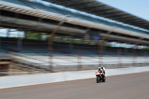 160 mph on a two-seater motorcycle at IMS