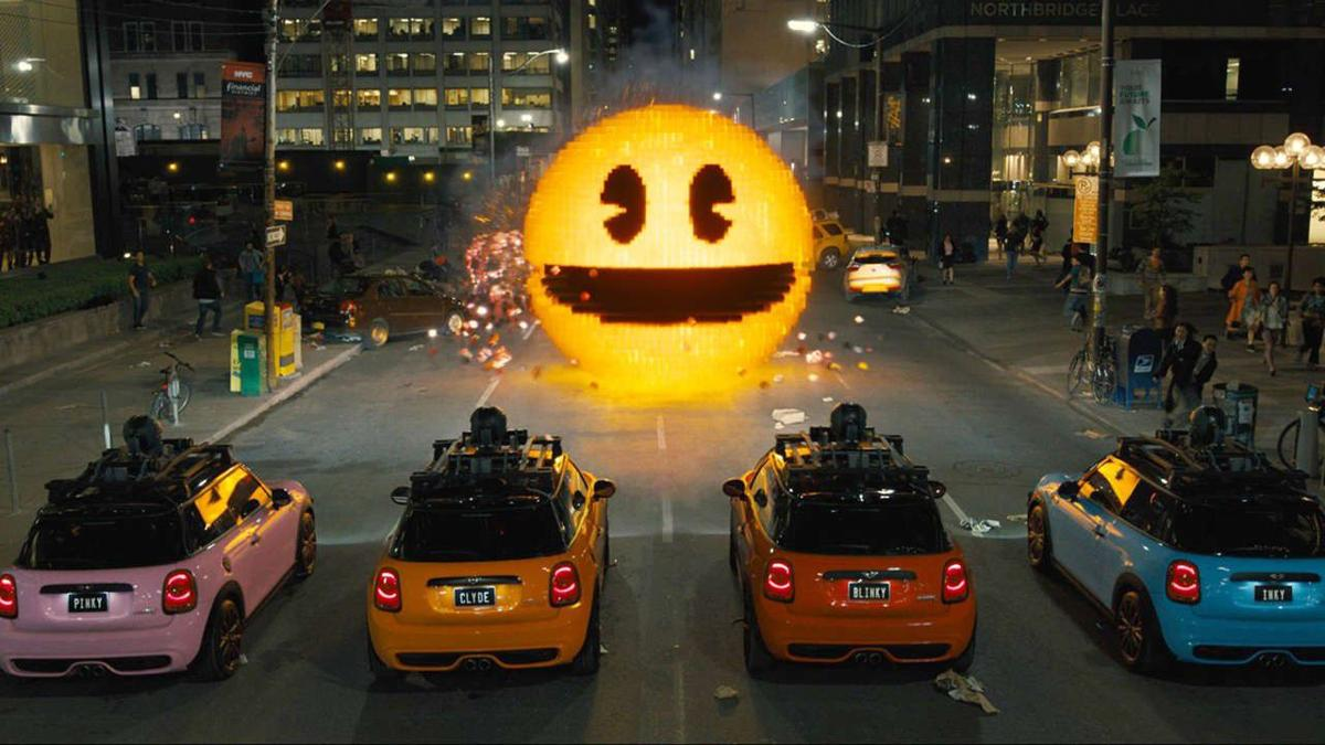 Review: Pixels, and how Adam Sandler is barely hitting the bar
