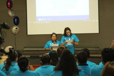 Stand UP parents Edith Aguilar and Angelina Olmedo