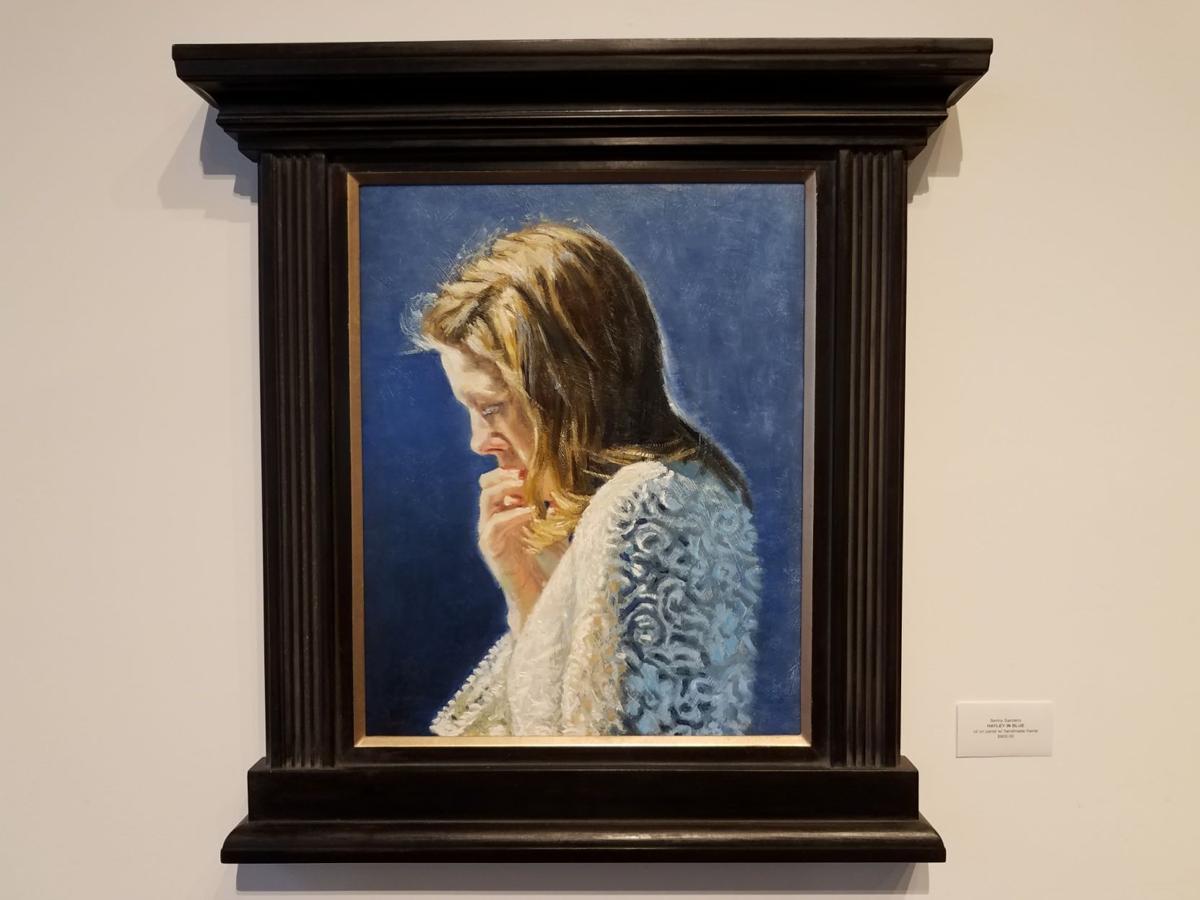 """Hayley in Blue"" by Benny Sanders"