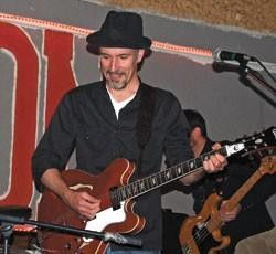 Tad Armstrong at Sam's Saloon, Oct. 30