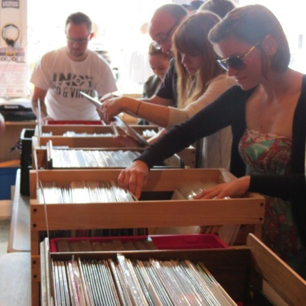 Record Store Day 2014 at Indy CD and Vinyl (Slideshow)