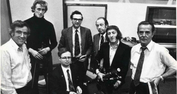 Chieftains' Paddy Moloney responds to Sean Potts' death