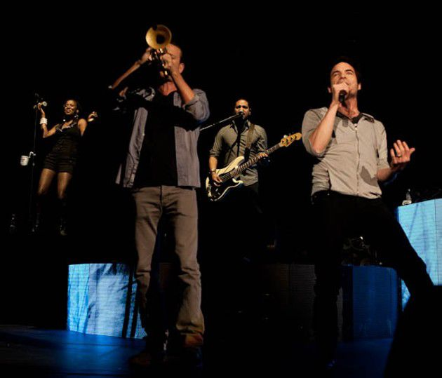 Slideshow: Train at Bankers Life Fieldhouse