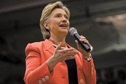 Five questions for Sen. Hillary Clinton